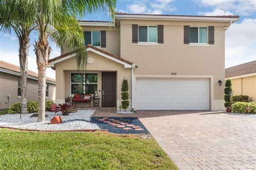 Photo of Listing MLS rx in 850 Palm Tree Lane Haverhill FL 33415