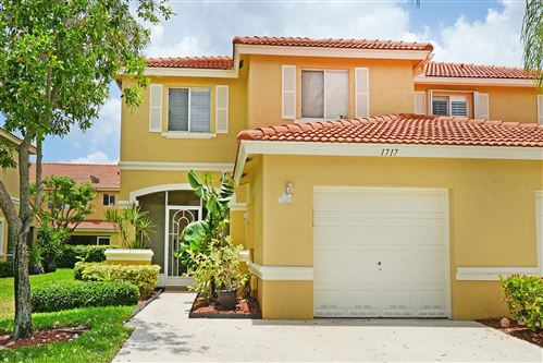 Photo of 1717 Arezzo Circle, Boynton Beach, FL 33436 (MLS # RX-10635750)