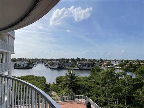 Photo of 3210 S Ocean Boulevard #502, Highland Beach, FL 33487 (MLS # RX-10701750)