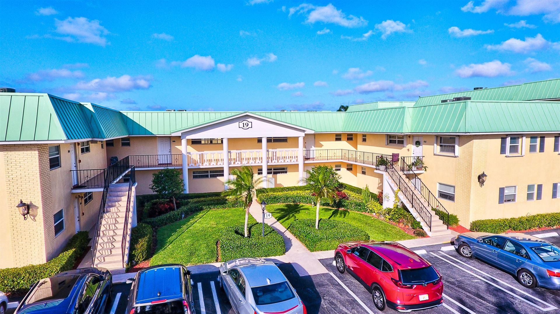 19 Colonial Club Drive #201, Boynton Beach, FL 33435 - #: RX-10694750