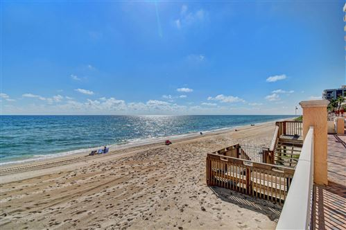 Photo of 4505 S Ocean 302 Boulevard #302, Highland Beach, FL 33487 (MLS # RX-10709751)