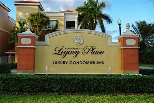 Photo of Listing MLS rx in 11013 Legacy Lane #101 Palm Beach Gardens FL 33410