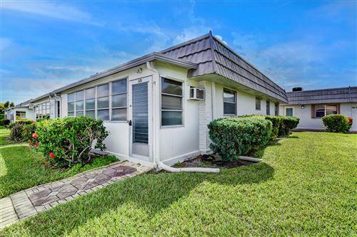 Photo of 128 Valencia F, Delray Beach, FL 33446 (MLS # RX-10694753)