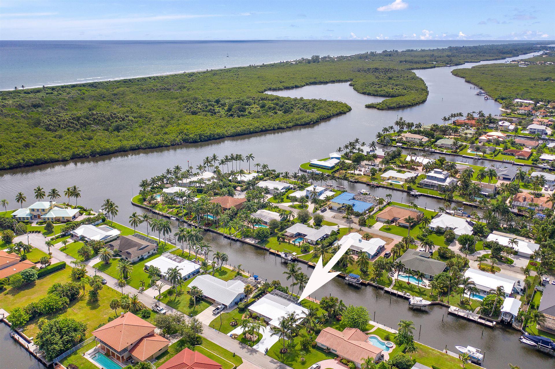 Photo of 8486 SE Palm Street, Hobe Sound, FL 33455 (MLS # RX-10744754)