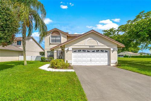Foto de inmueble con direccion 3883 Circle Lake Drive West Palm Beach FL 33417 con MLS RX-10661757