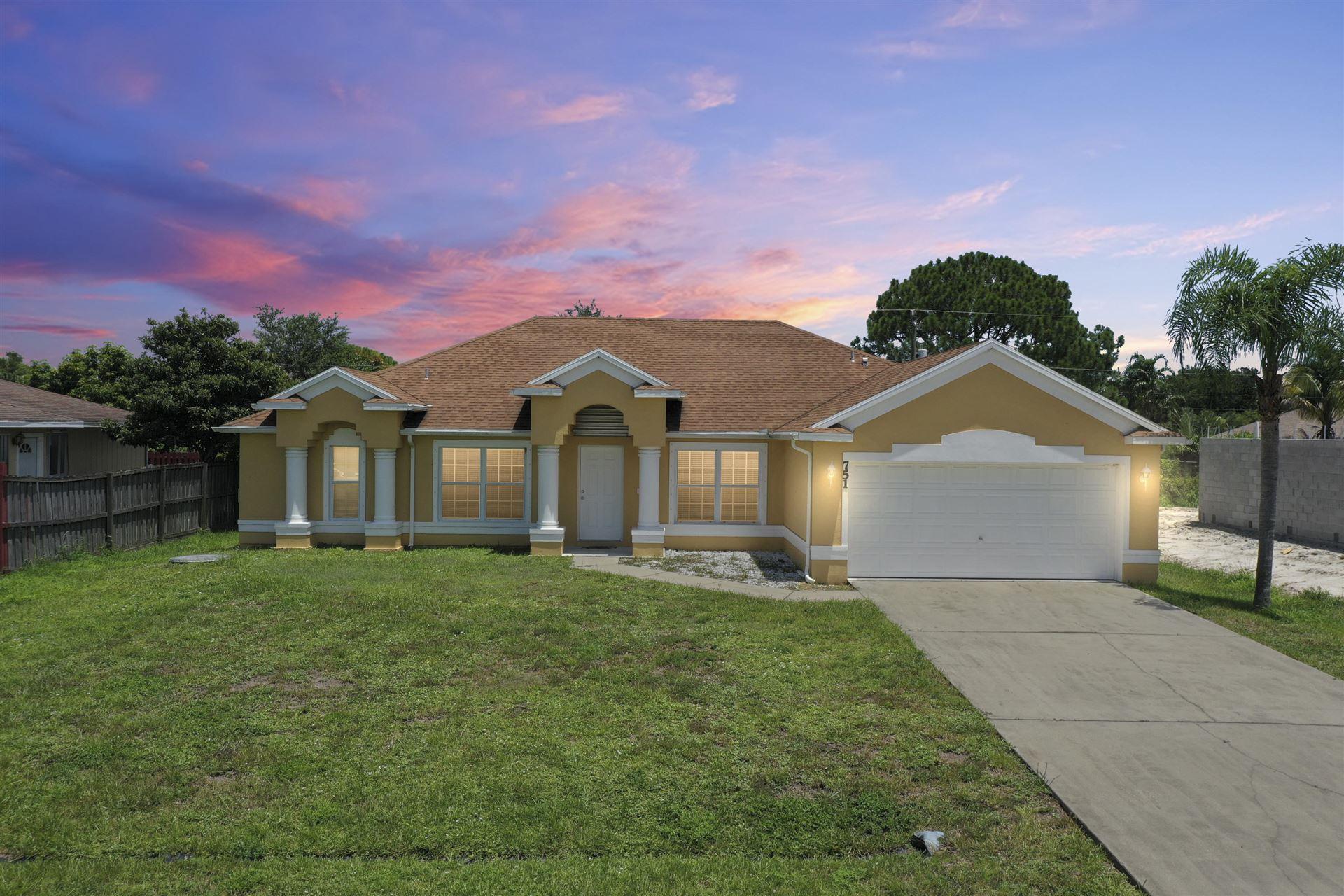 751 SW Dolores Avenue, Port Saint Lucie, FL 34983 - #: RX-10732757