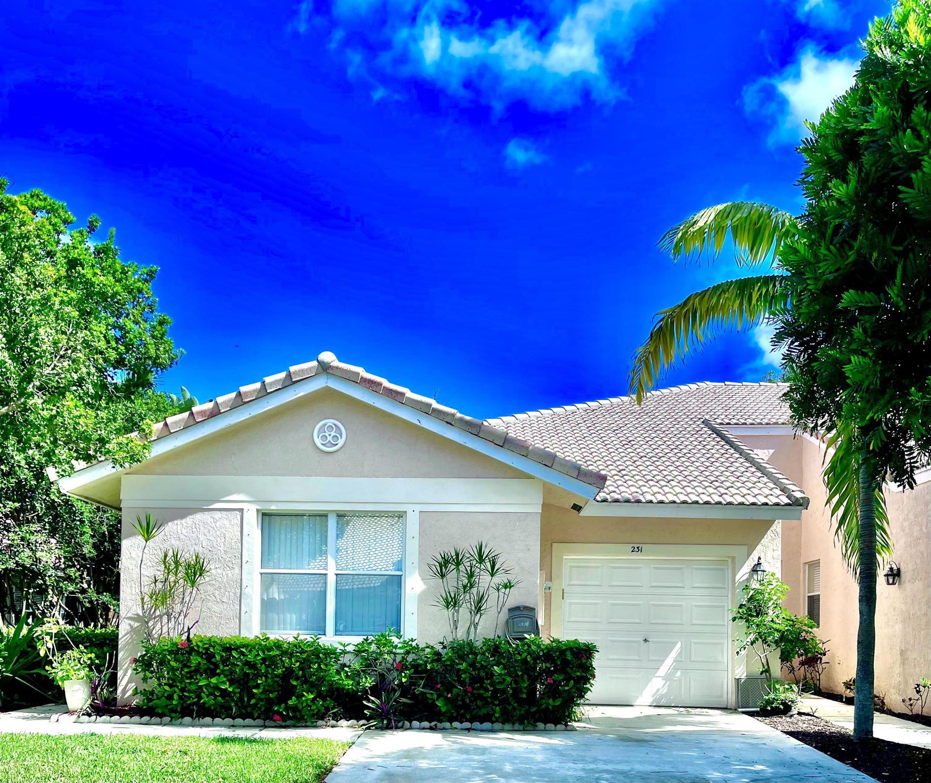 231 E Coral Trace Circle, Delray Beach, FL 33445 - MLS#: RX-10752757