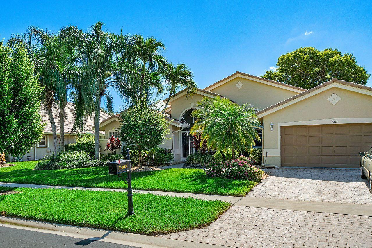 7403 Falls Road W, Boynton Beach, FL 33437 - #: RX-10631759