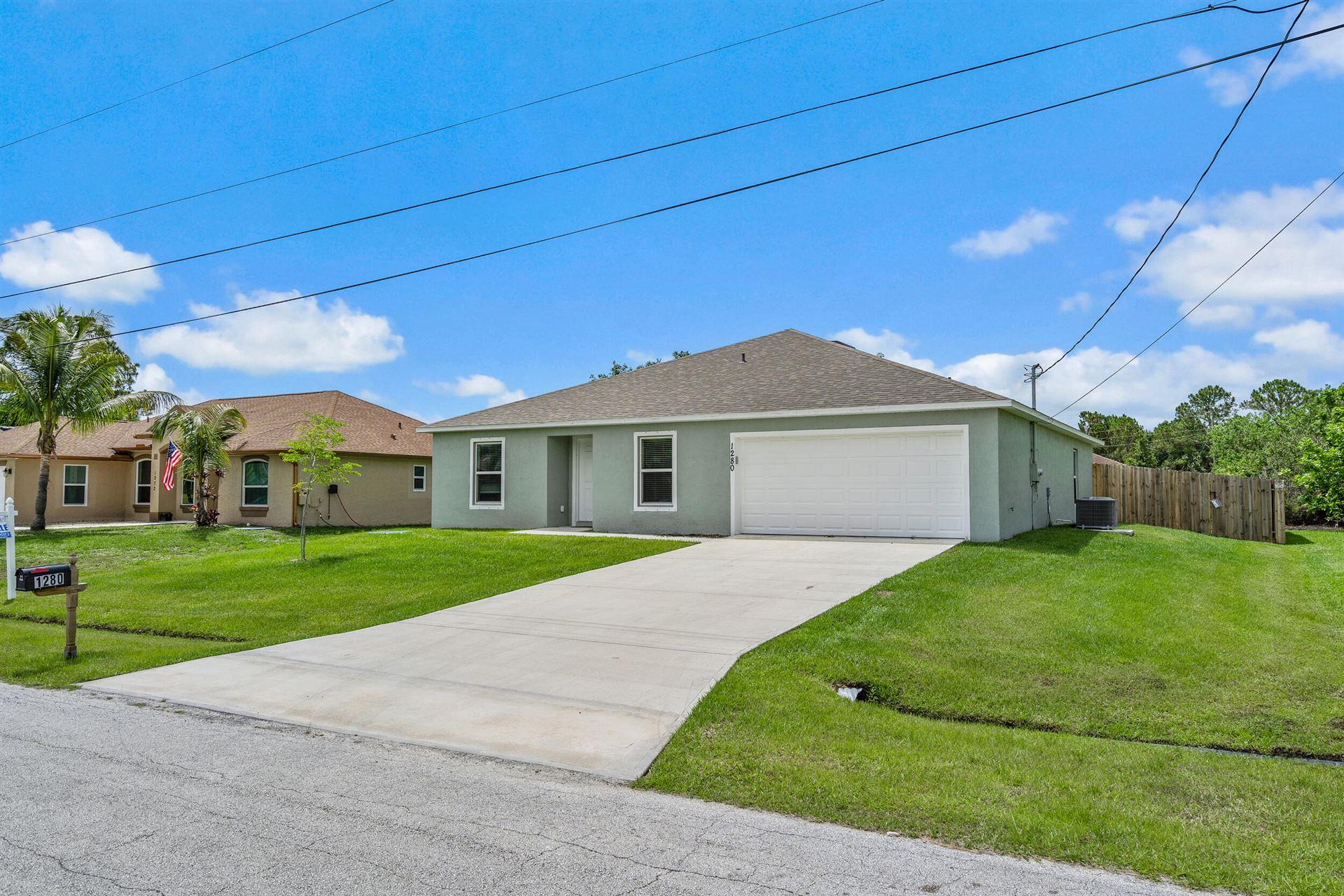 1280 SW Mancuso Avenue, Port Saint Lucie, FL 34953 - MLS#: RX-10722761