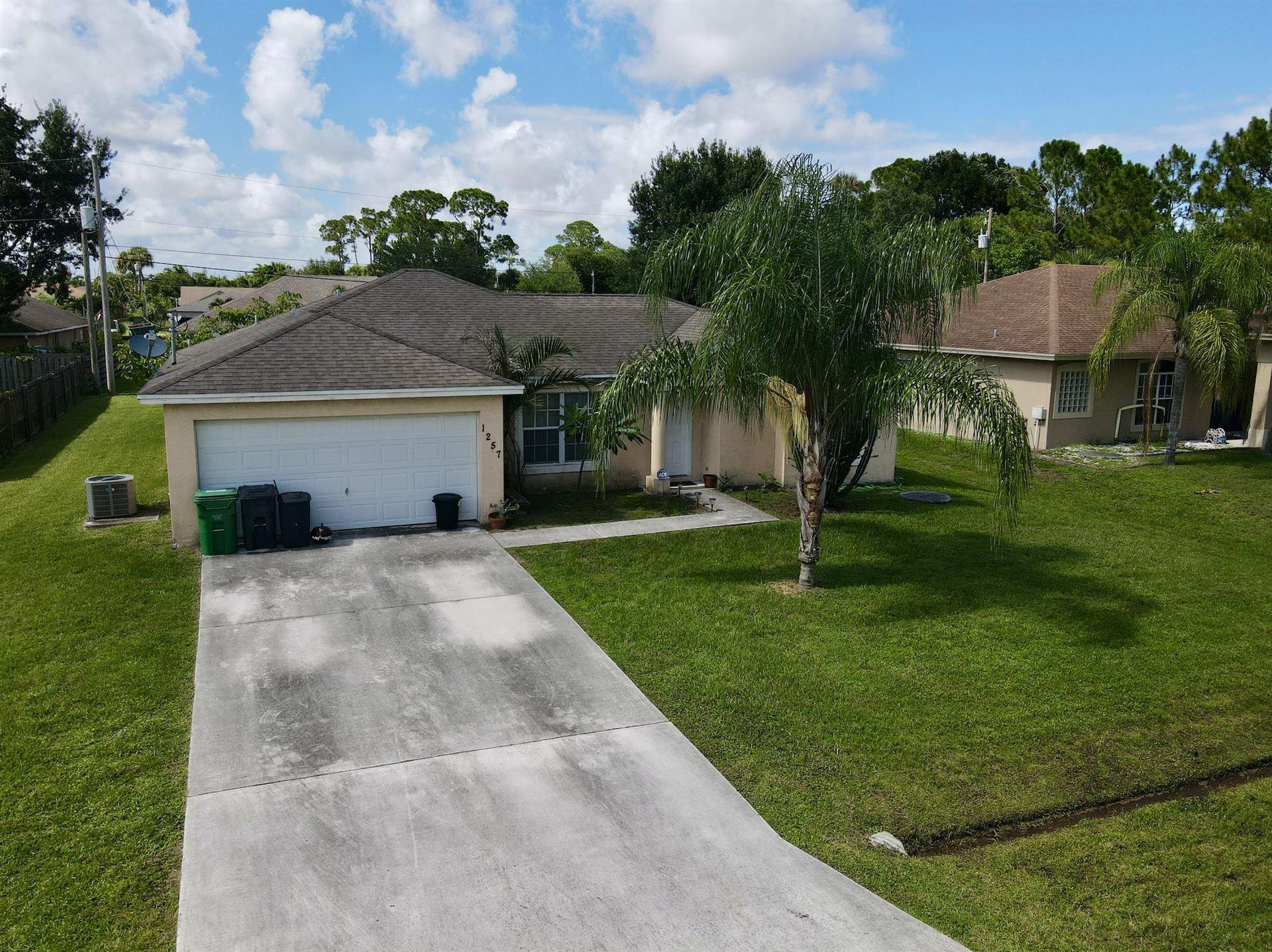 1257 SW Herald Road, Port Saint Lucie, FL 34953 - #: RX-10732761