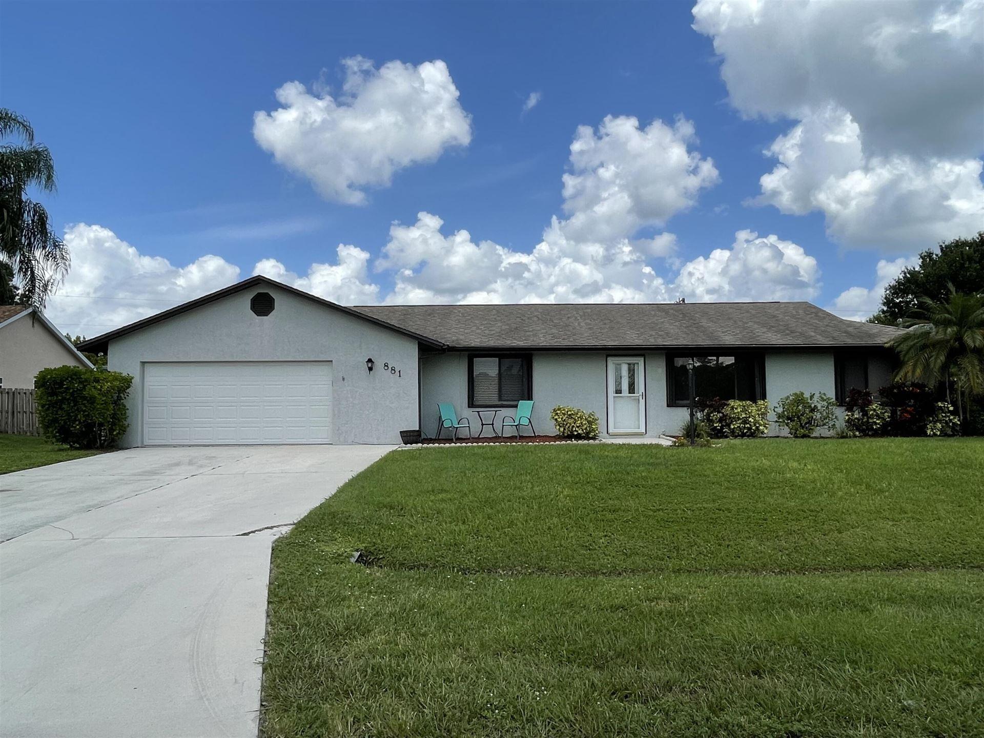 881 SW General Patton Terrace, Port Saint Lucie, FL 34953 - #: RX-10743761