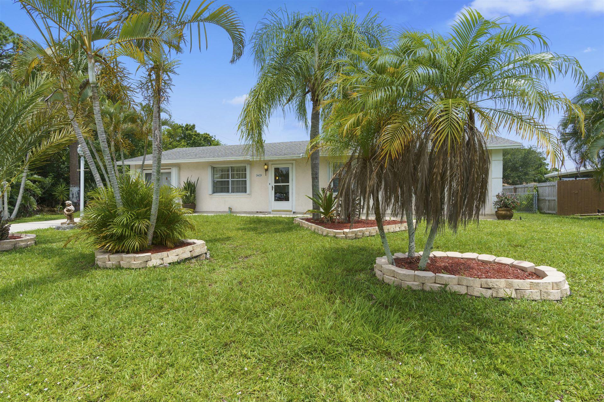 2433 SE Melaleuca Boulevard, Port Saint Lucie, FL 34952 - #: RX-10627763
