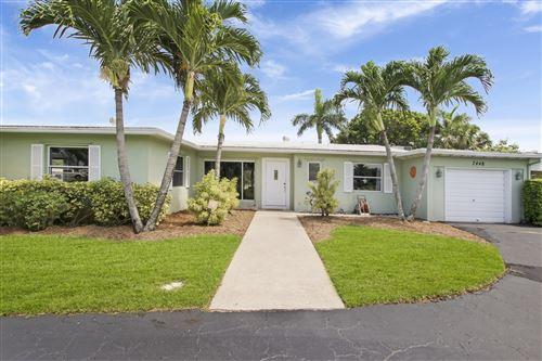 Photo of Listing MLS rx in 7448 Venetian Way Lake Clarke Shores FL 33406