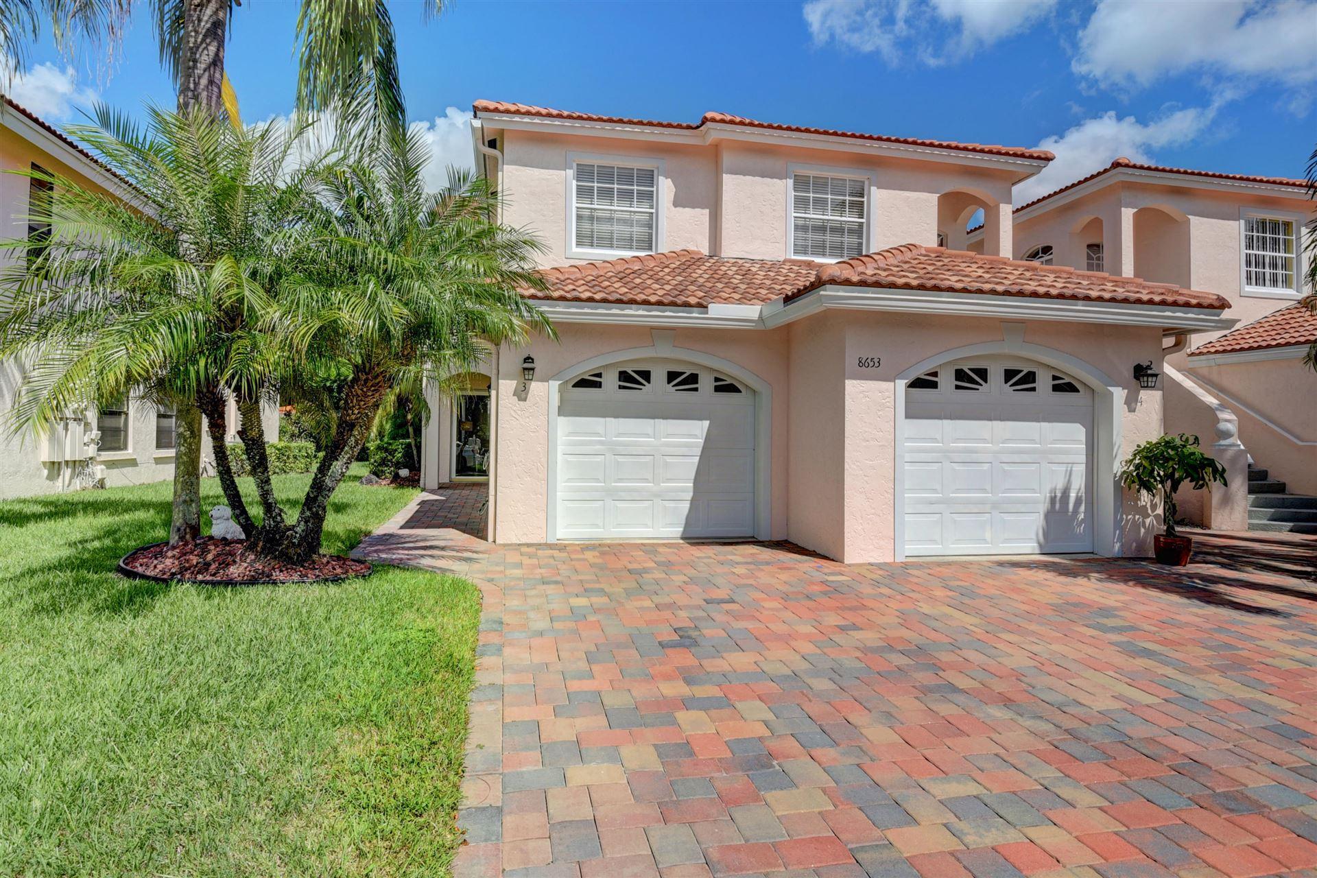 8653 Via Reale #3, Boca Raton, FL 33496 - #: RX-10662765