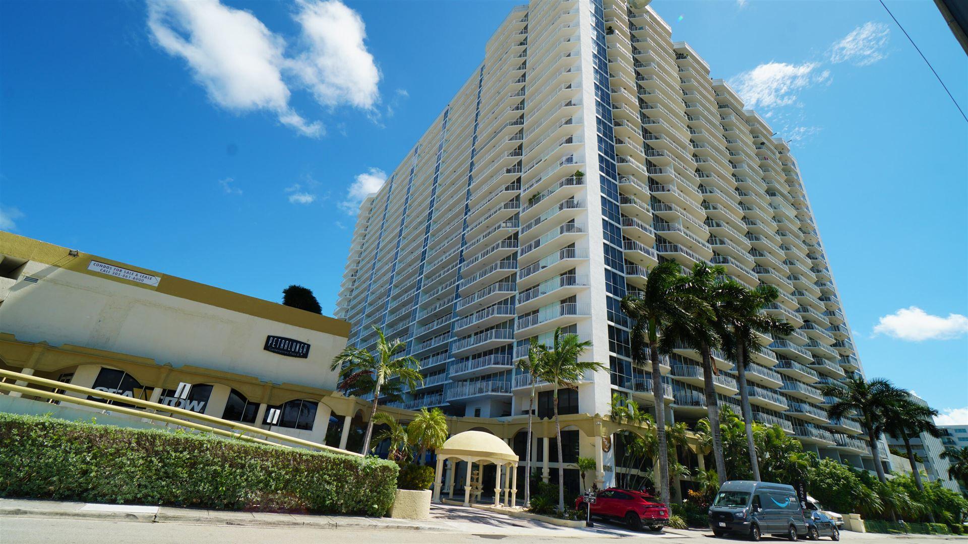 7601 E Treasure Drive #1506, North Bay Village, FL 33141 - MLS#: RX-10750765