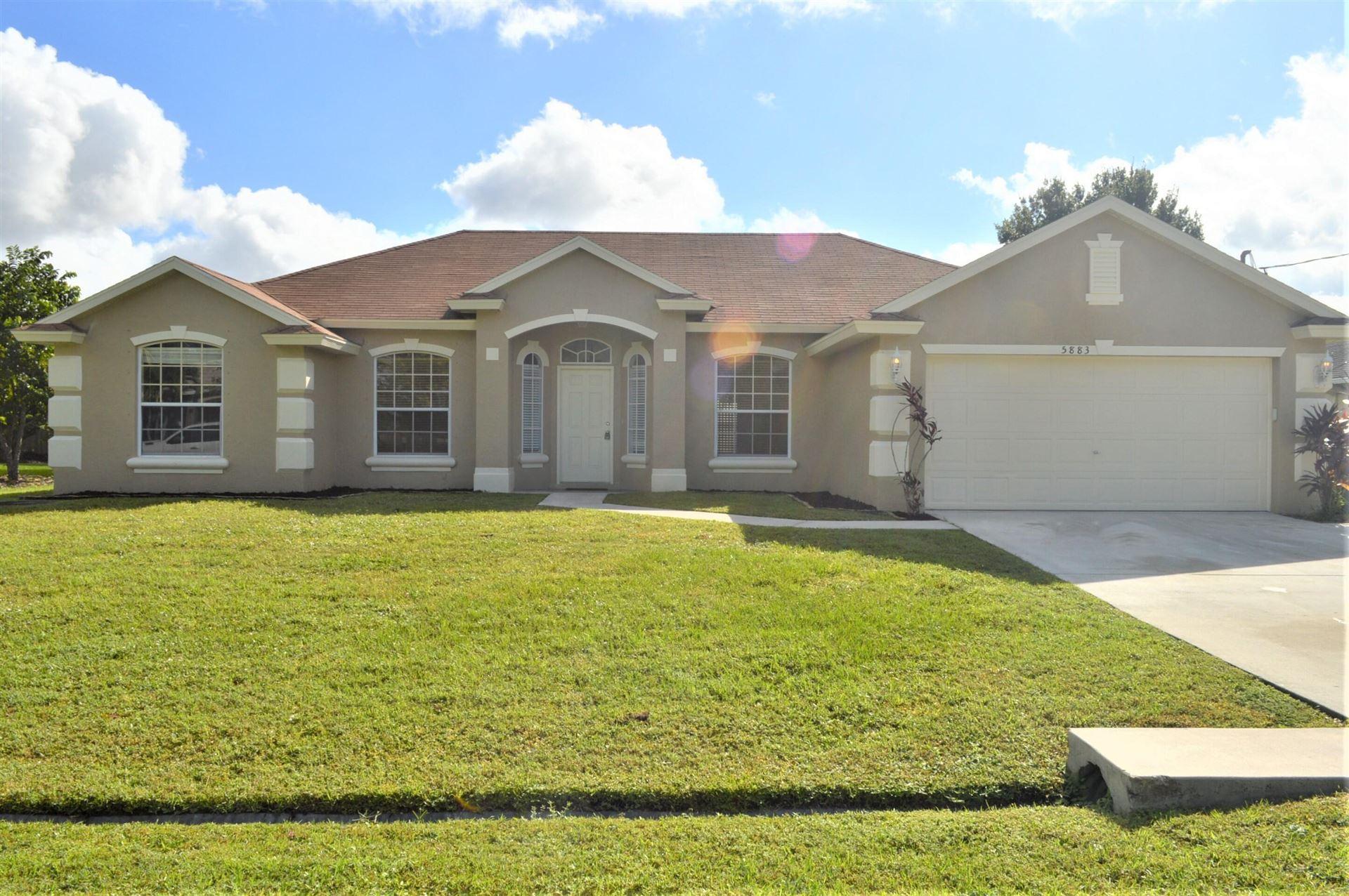 5883 NW Files Court, Port Saint Lucie, FL 34986 - #: RX-10754765