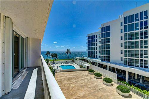 Photo of 3570 S Ocean Boulevard #506, South Palm Beach, FL 33480 (MLS # RX-10738766)