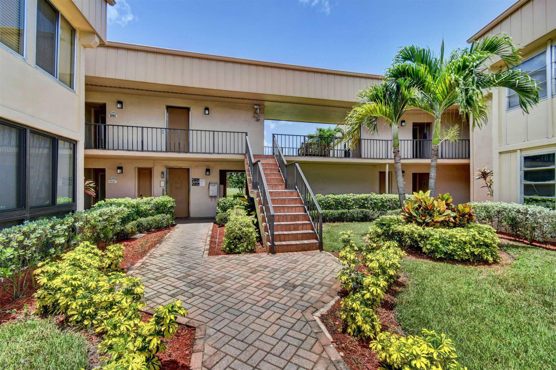 445 Piedmont J, Delray Beach, FL 33484 - #: RX-10635766