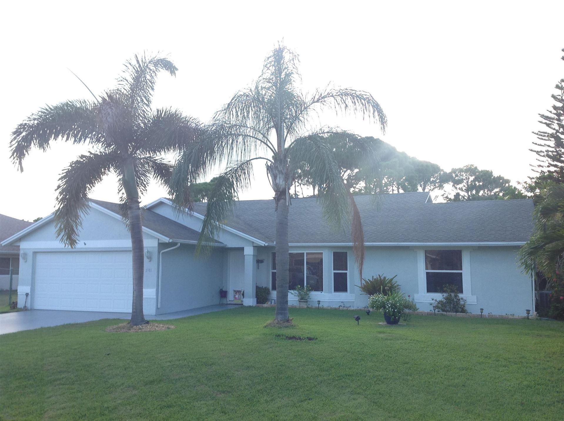 1911 SE Gaskins Circle, Port Saint Lucie, FL 34952 - #: RX-10645766