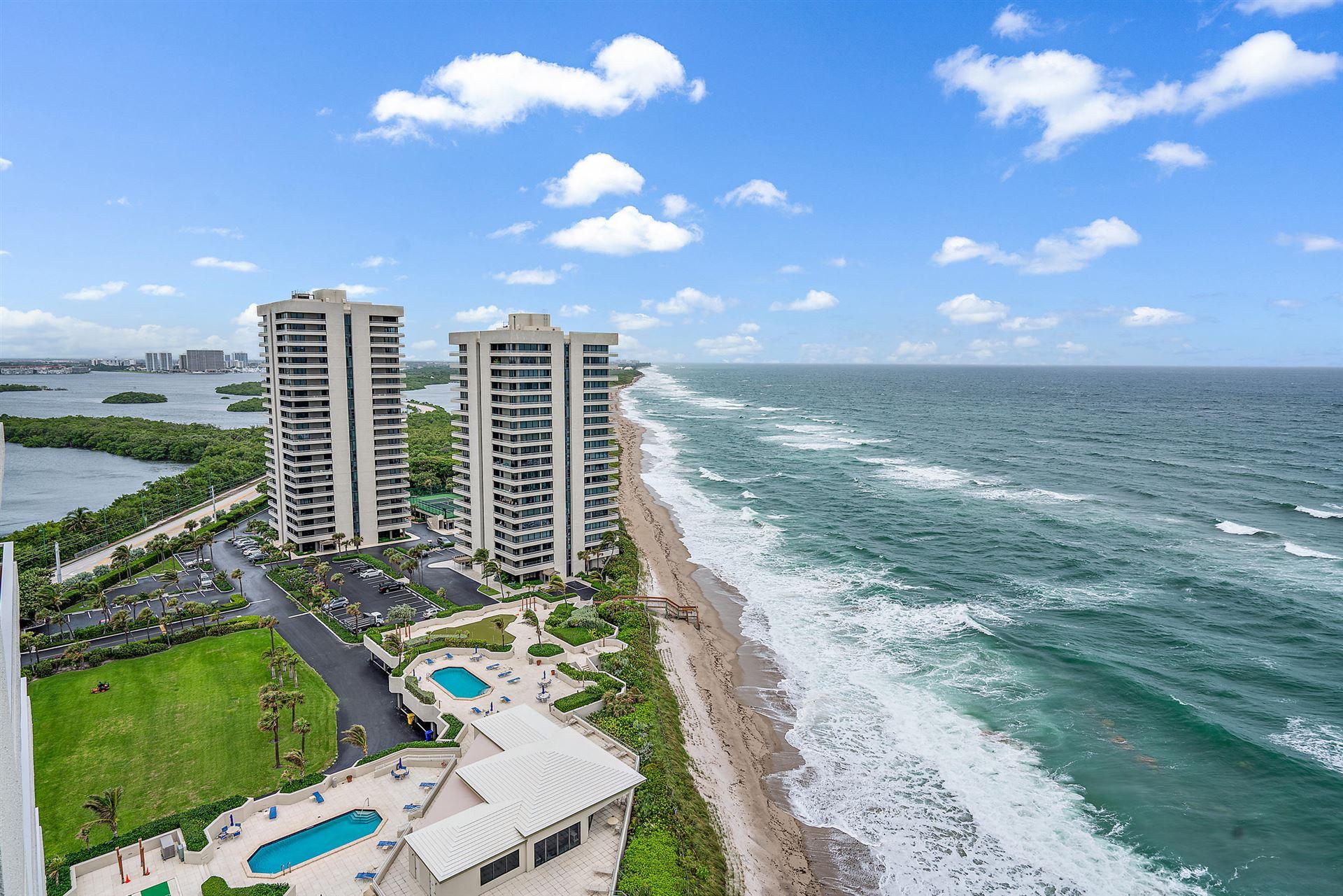 Photo of 5510 N Ocean Drive #19a, Singer Island, FL 33404 (MLS # RX-10665766)