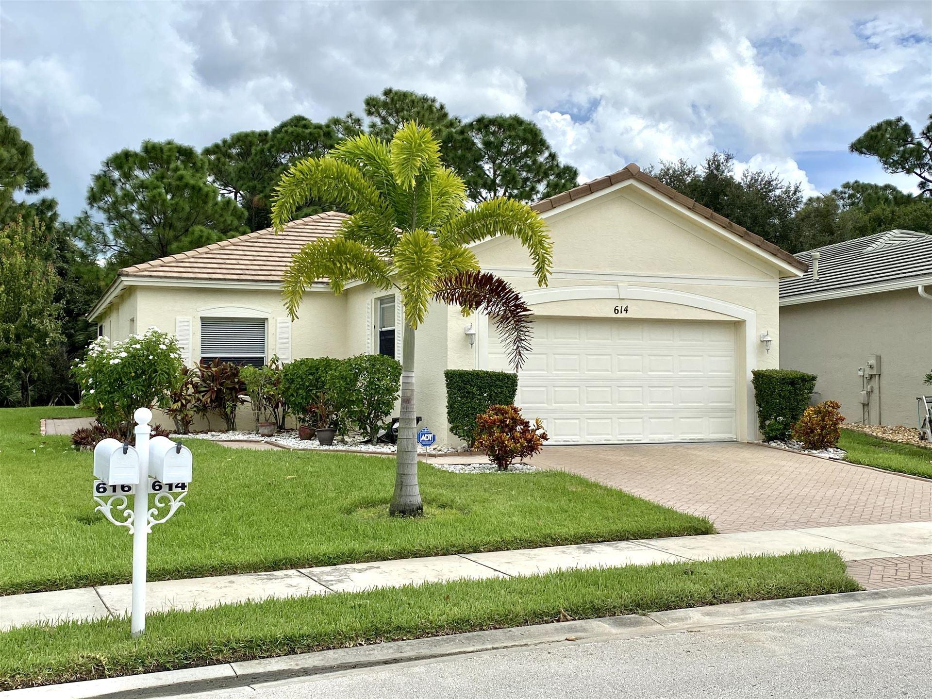 614 SW Indian Key Drive, Port Saint Lucie, FL 34986 - #: RX-10658767