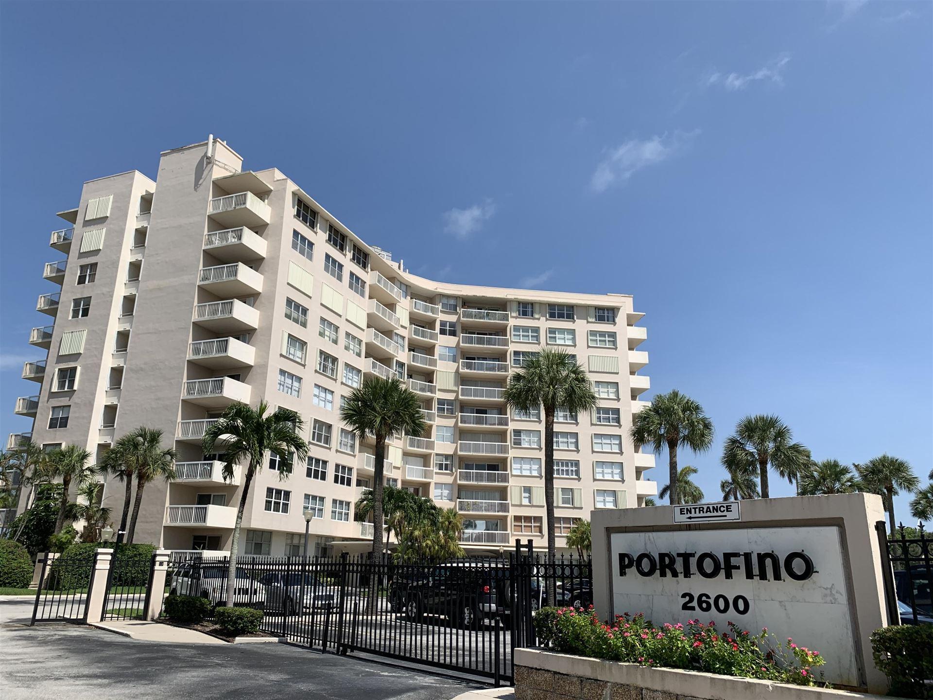 2600 N Flagler Drive #712, West Palm Beach, FL 33407 - MLS#: RX-10531771