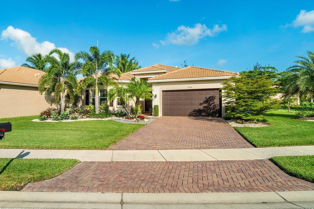 9928 Bluefield Drive, Boynton Beach, FL 33473 - #: RX-10665772