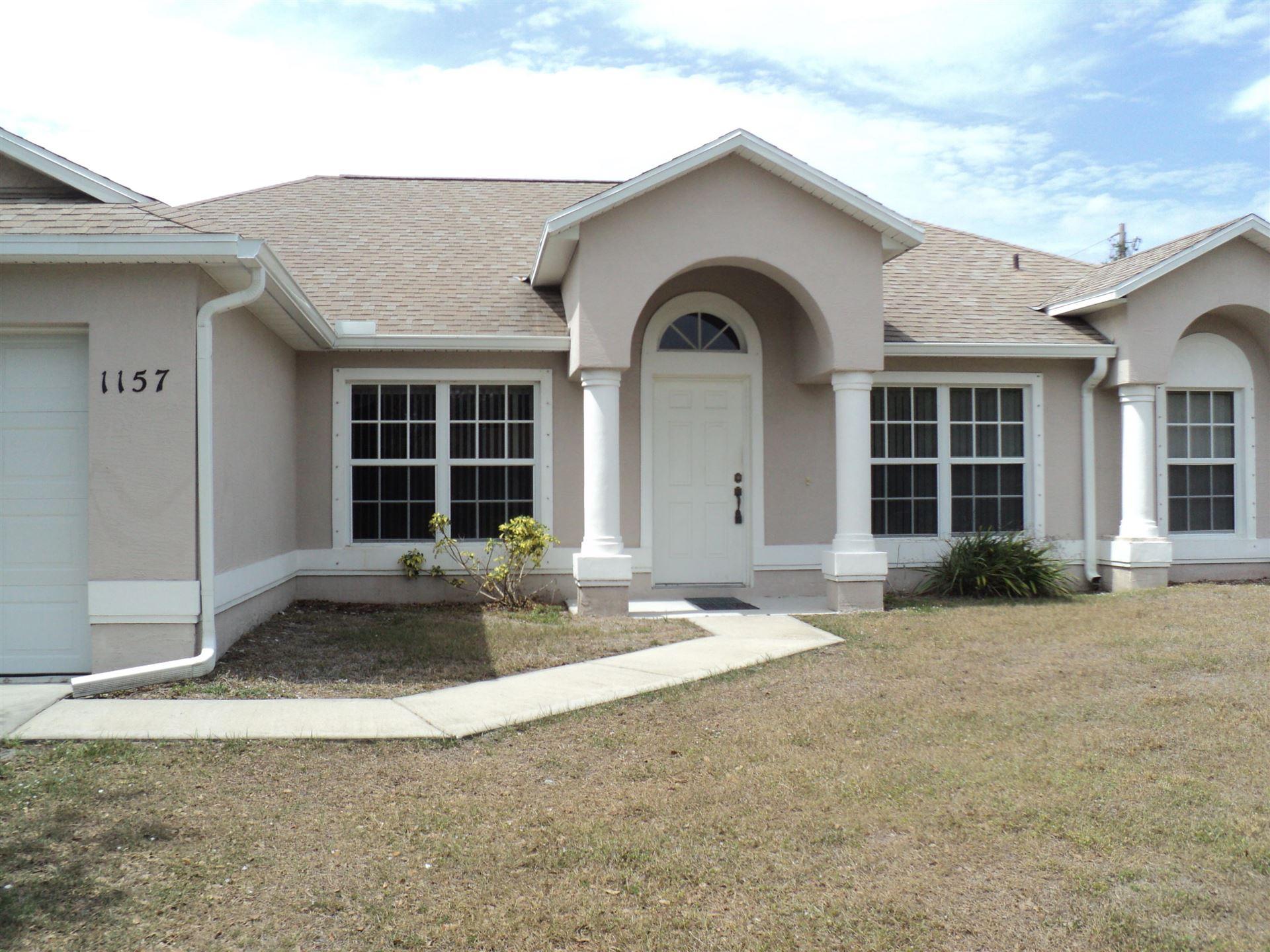 1157 SW Hunnicut Avenue, Port Saint Lucie, FL 34953 - #: RX-10696772