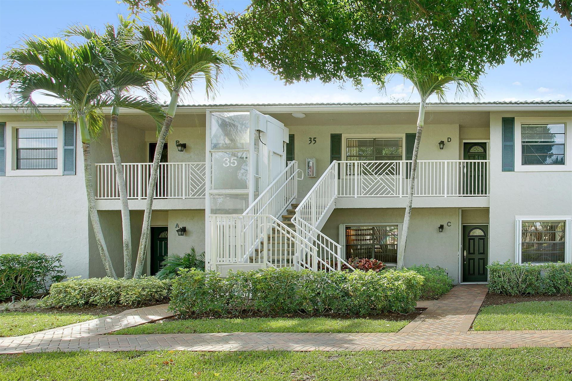 35 W Stratford Lane #C, Boynton Beach, FL 33436 - MLS#: RX-10710773