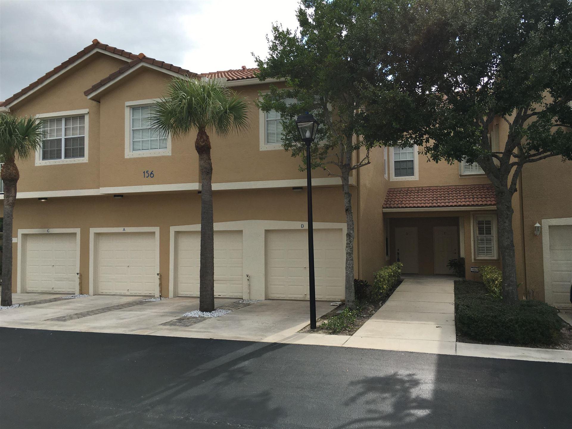 156 Village Boulevard #D, Tequesta, FL 33469 - #: RX-10725774