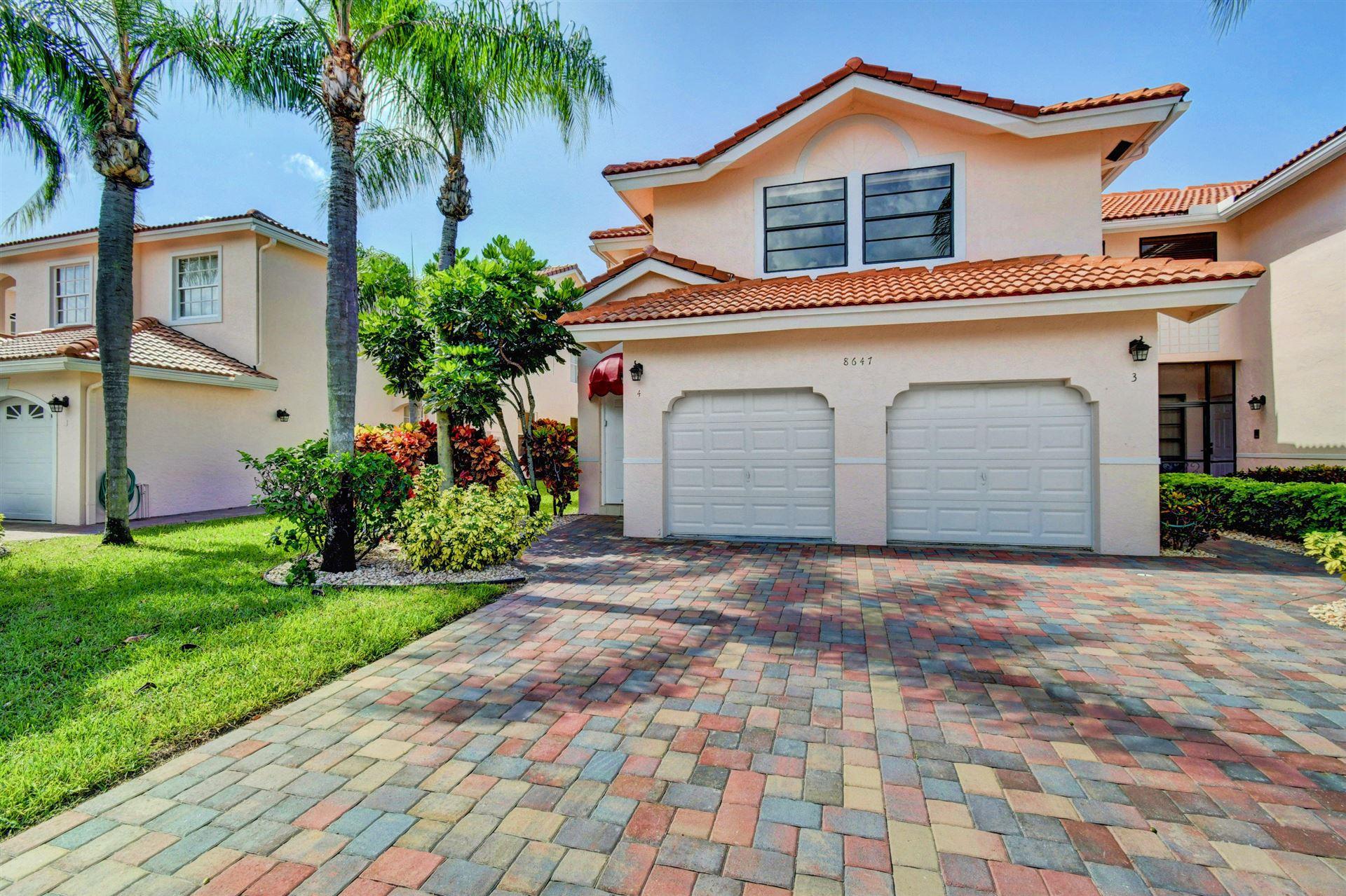 8647 Via Reale #4, Boca Raton, FL 33496 - #: RX-10635775
