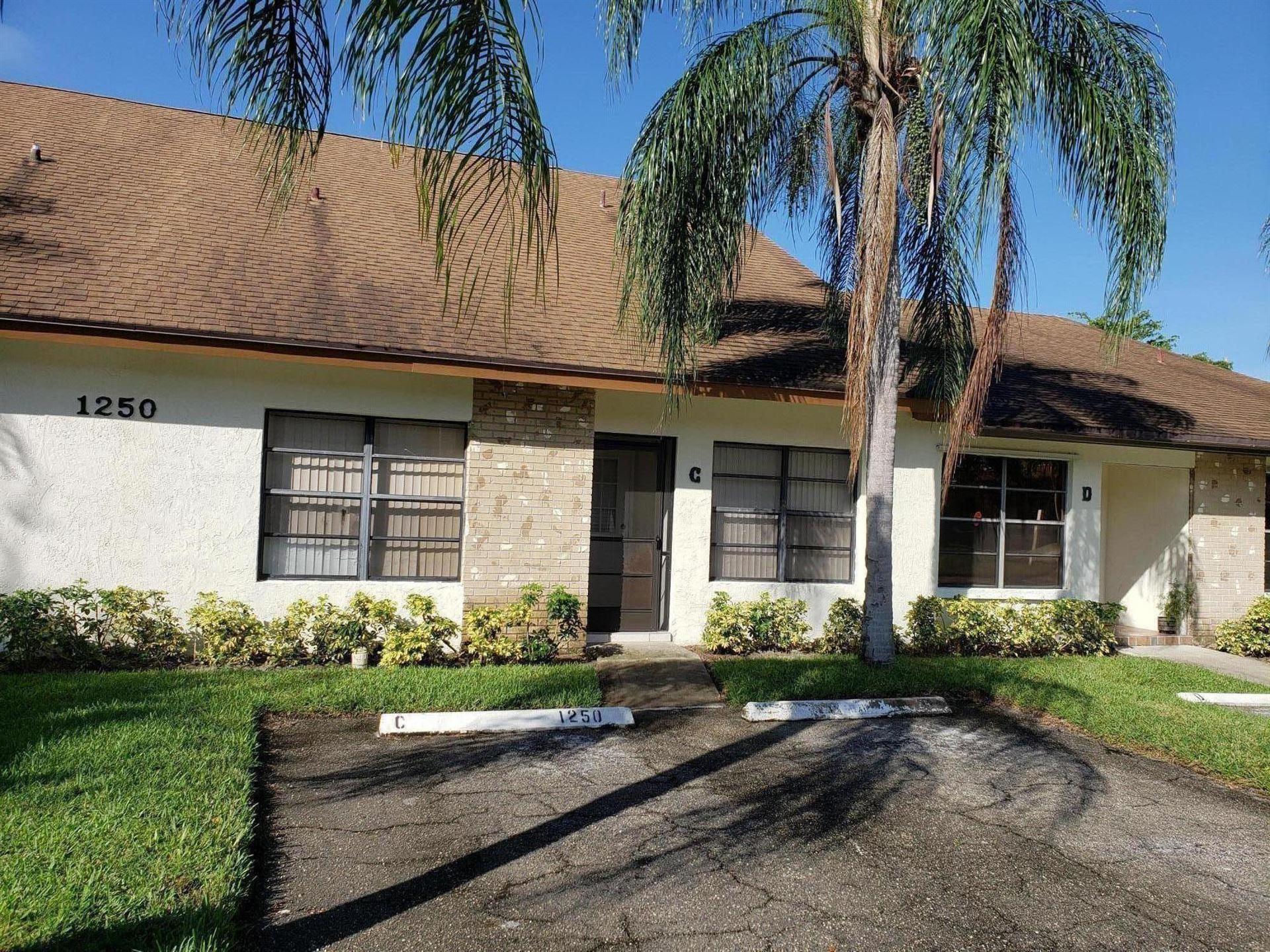 1250 Parkside Green Drive #C, Greenacres, FL 33415 - #: RX-10605776