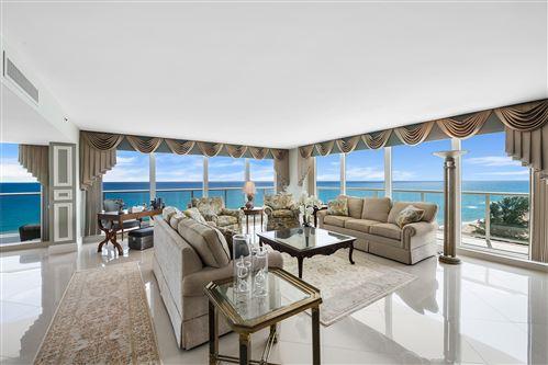 Photo of 3505 S Ocean Boulevard #10s, Highland Beach, FL 33487 (MLS # RX-10664777)
