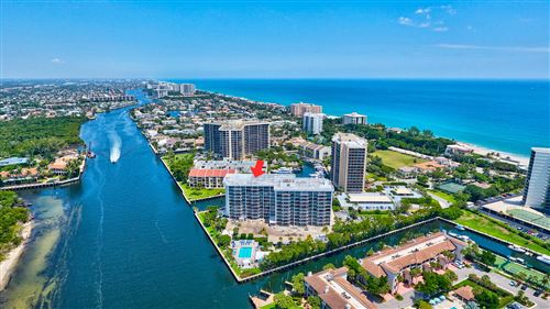 Photo of 4750 S Ocean Boulevard #803, Highland Beach, FL 33487 (MLS # RX-10710777)