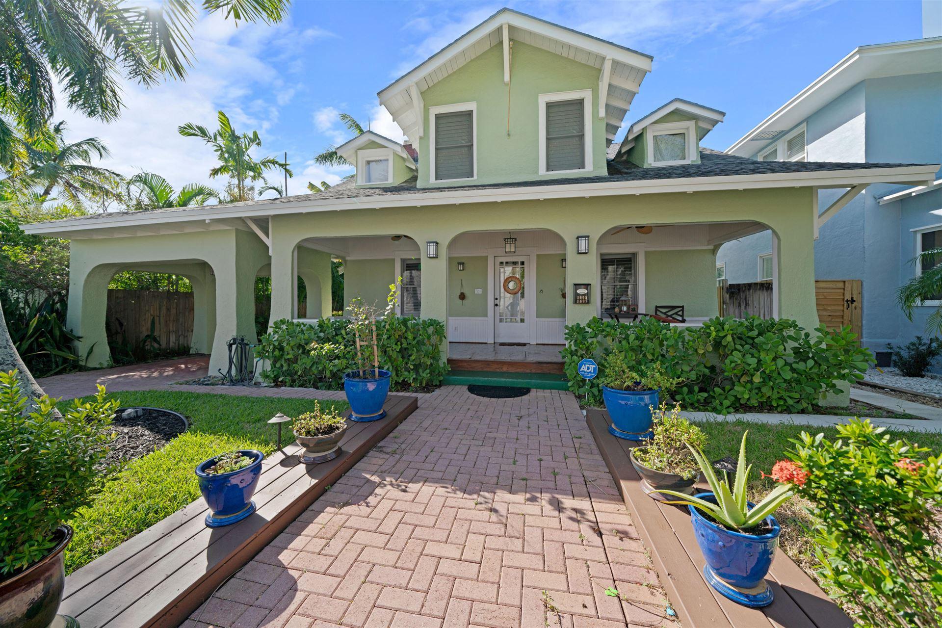 1605 Georgia Avenue, West Palm Beach, FL 33401 - #: RX-10673777