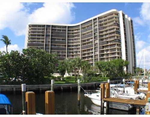 Photo of 4740 S Ocean Boulevard #1412, Highland Beach, FL 33487 (MLS # RX-10656779)