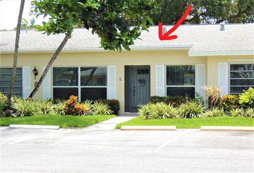 Foto de inmueble con direccion 13831 Via Flora #C Delray Beach FL 33484 con MLS RX-10636780
