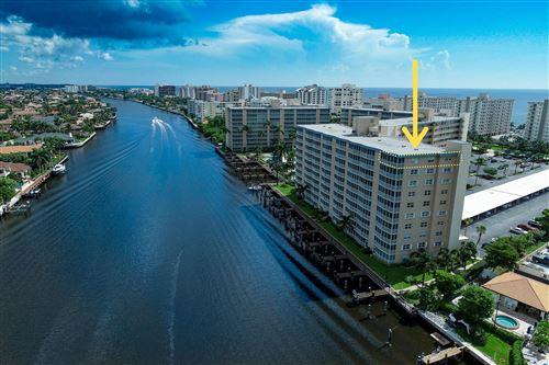 Photo of 3310 S Ocean Boulevard #1032-D, Highland Beach, FL 33487 (MLS # RX-10668781)