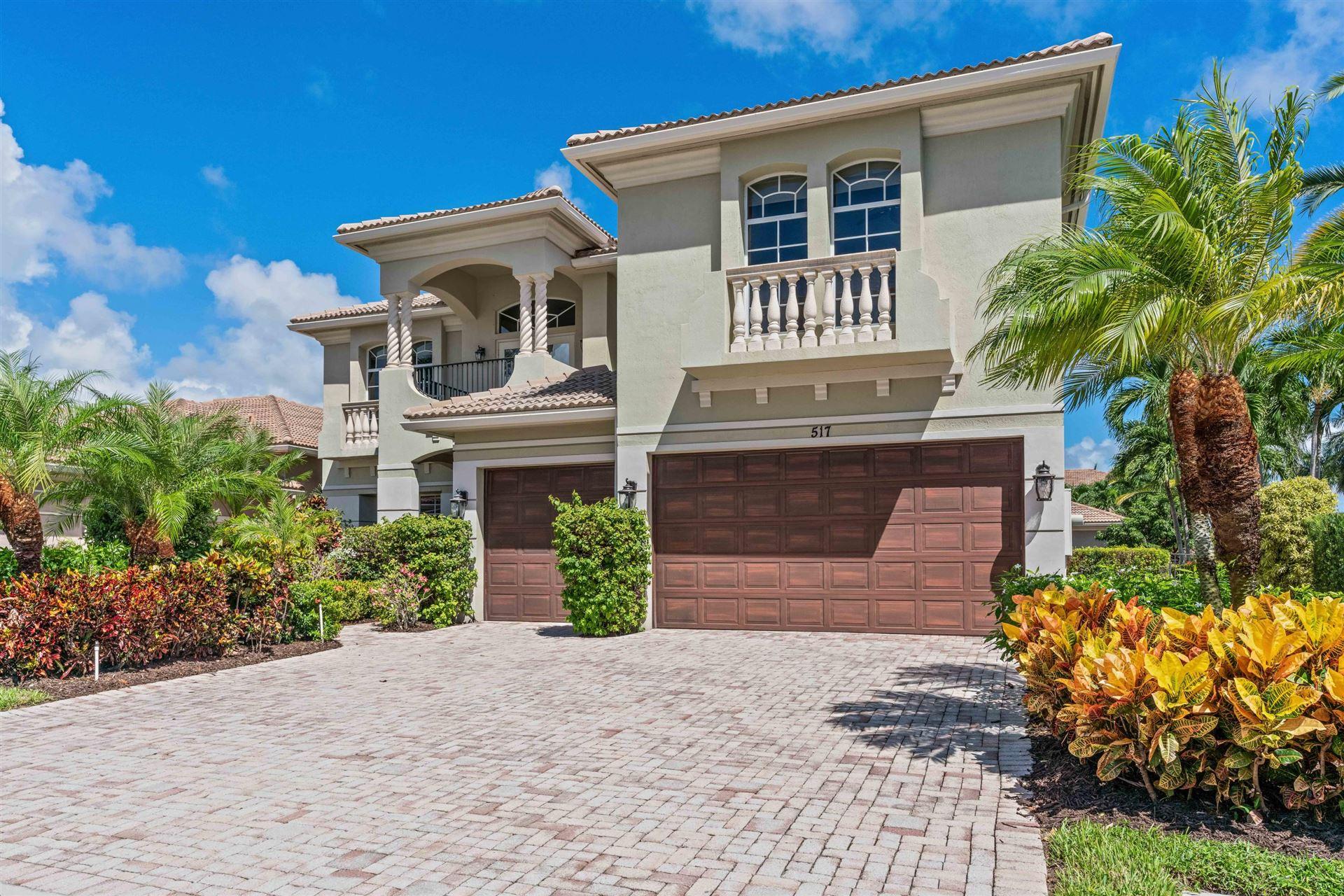 Photo of 517 Les Jardin Drive, Palm Beach Gardens, FL 33410 (MLS # RX-10650781)
