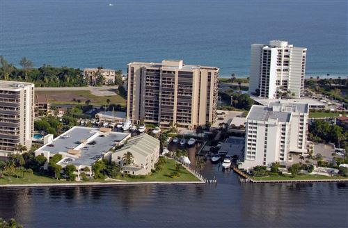 Photo of 4748 S Ocean Boulevard #403, Highland Beach, FL 33487 (MLS # RX-10673784)