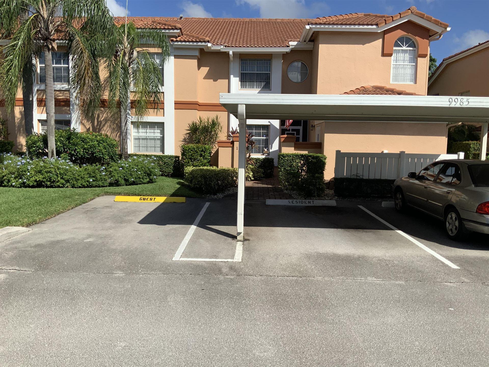 9985 Harbour Lake Circle #102, Boynton Beach, FL 33437 - #: RX-10666785