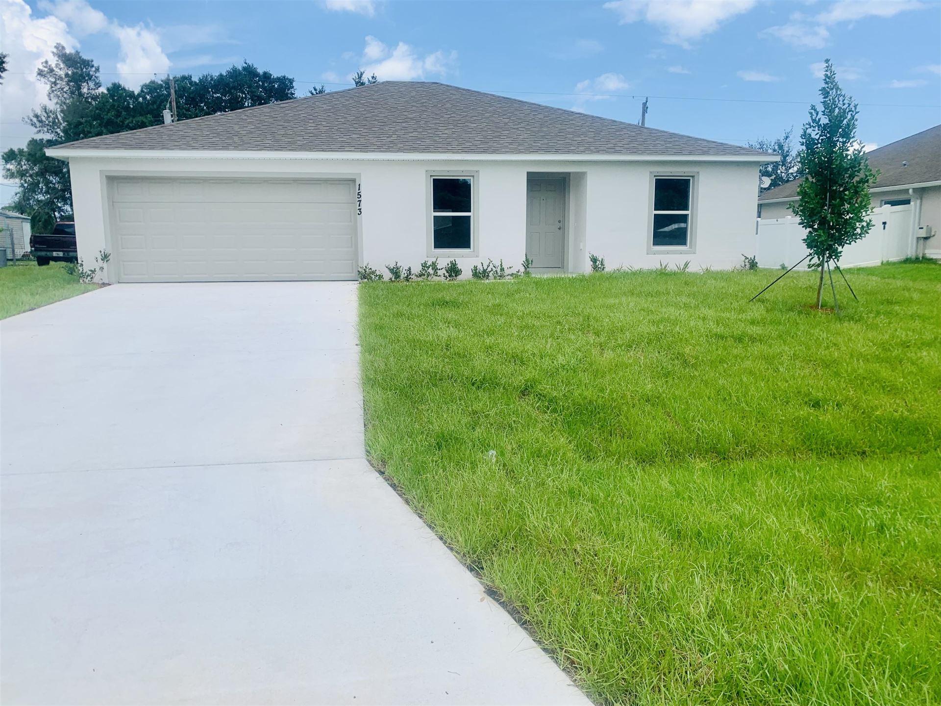 1573 SW Leisure Lane, Port Saint Lucie, FL 34953 - #: RX-10733785