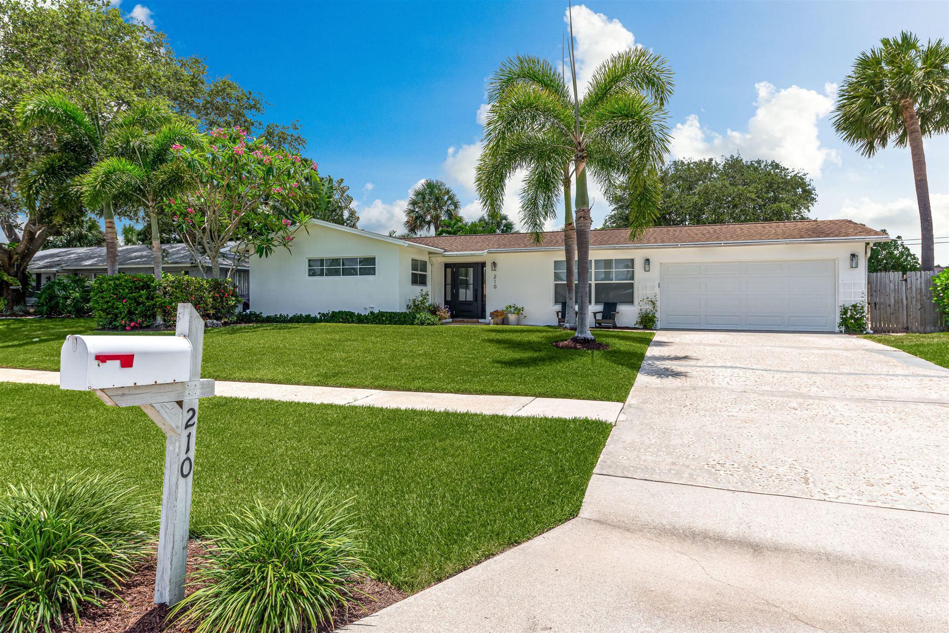 210 Circle East, Jupiter, FL 33458 - MLS#: RX-10720786