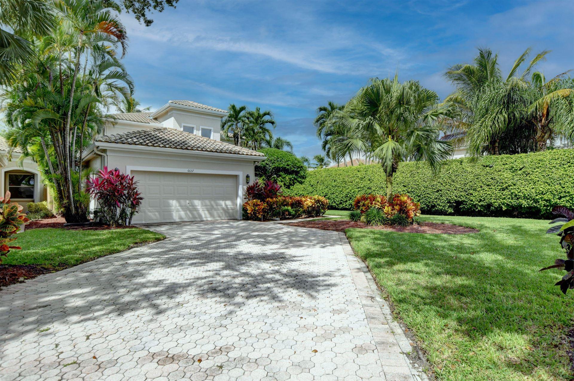 6637 NW 24th Avenue, Boca Raton, FL 33496 - MLS#: RX-10752786