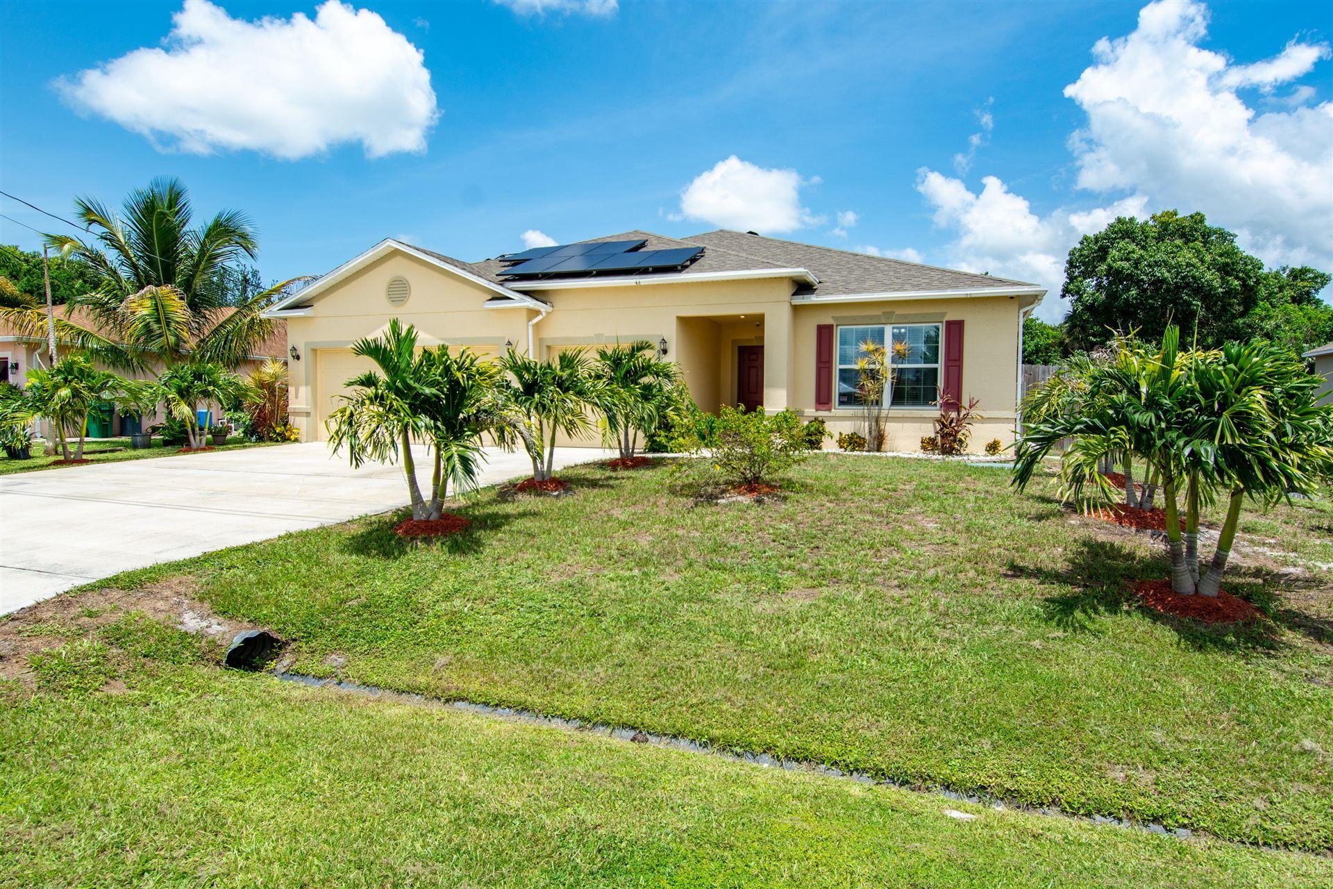 937 SW Hamberland Avenue, Port Saint Lucie, FL 34953 - #: RX-10735788