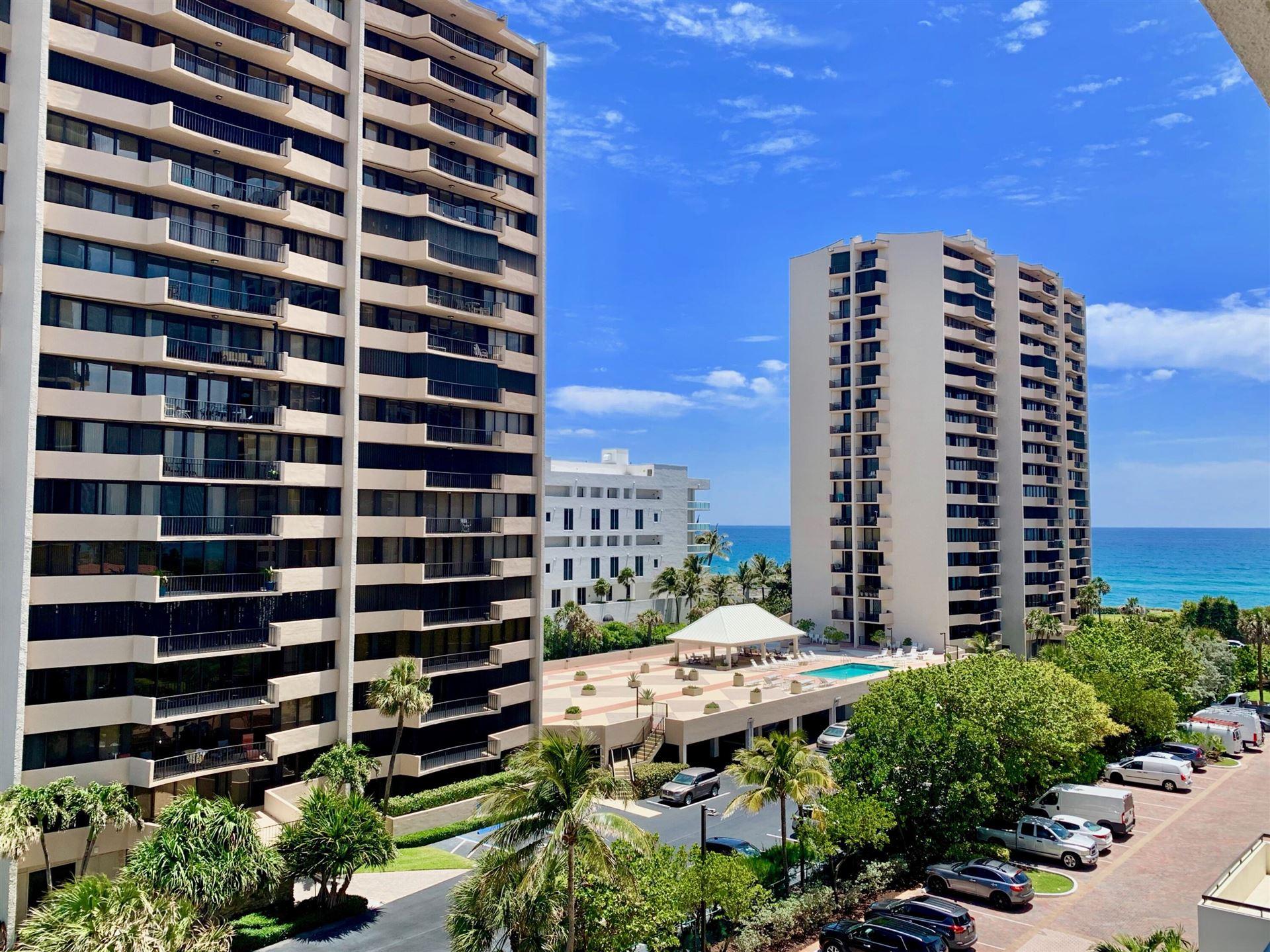 Photo for 4200 N Ocean Drive #1-504, Singer Island, FL 33404 (MLS # RX-10746788)