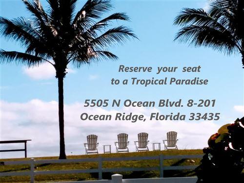 Photo of 5505 N Ocean Boulevard #8-201, Ocean Ridge, FL 33435 (MLS # RX-10652789)