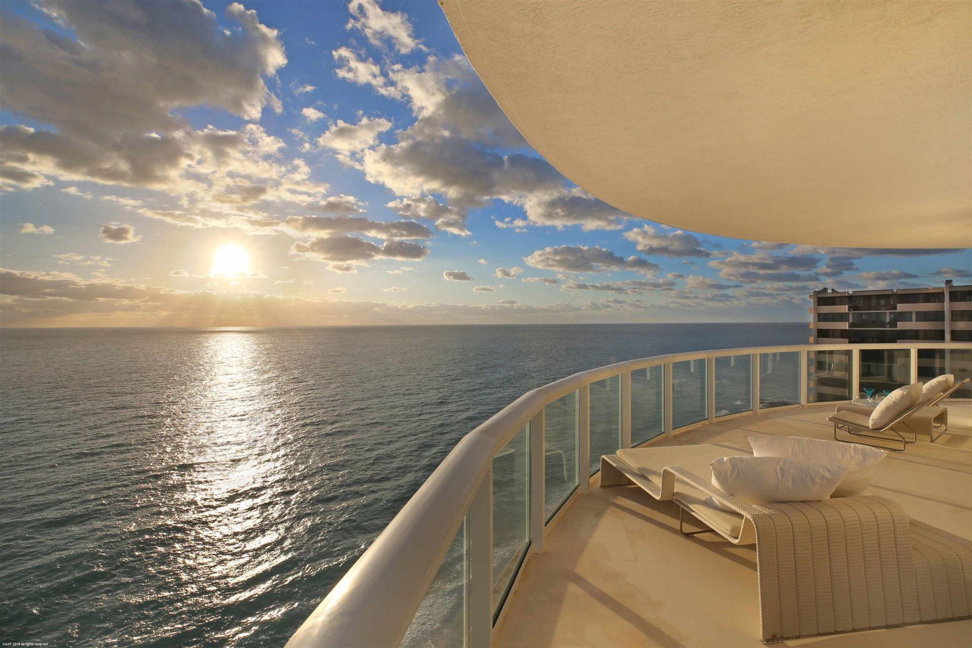 Photo of 4600 N Ocean Drive #1501, Singer Island, FL 33404 (MLS # RX-10632789)
