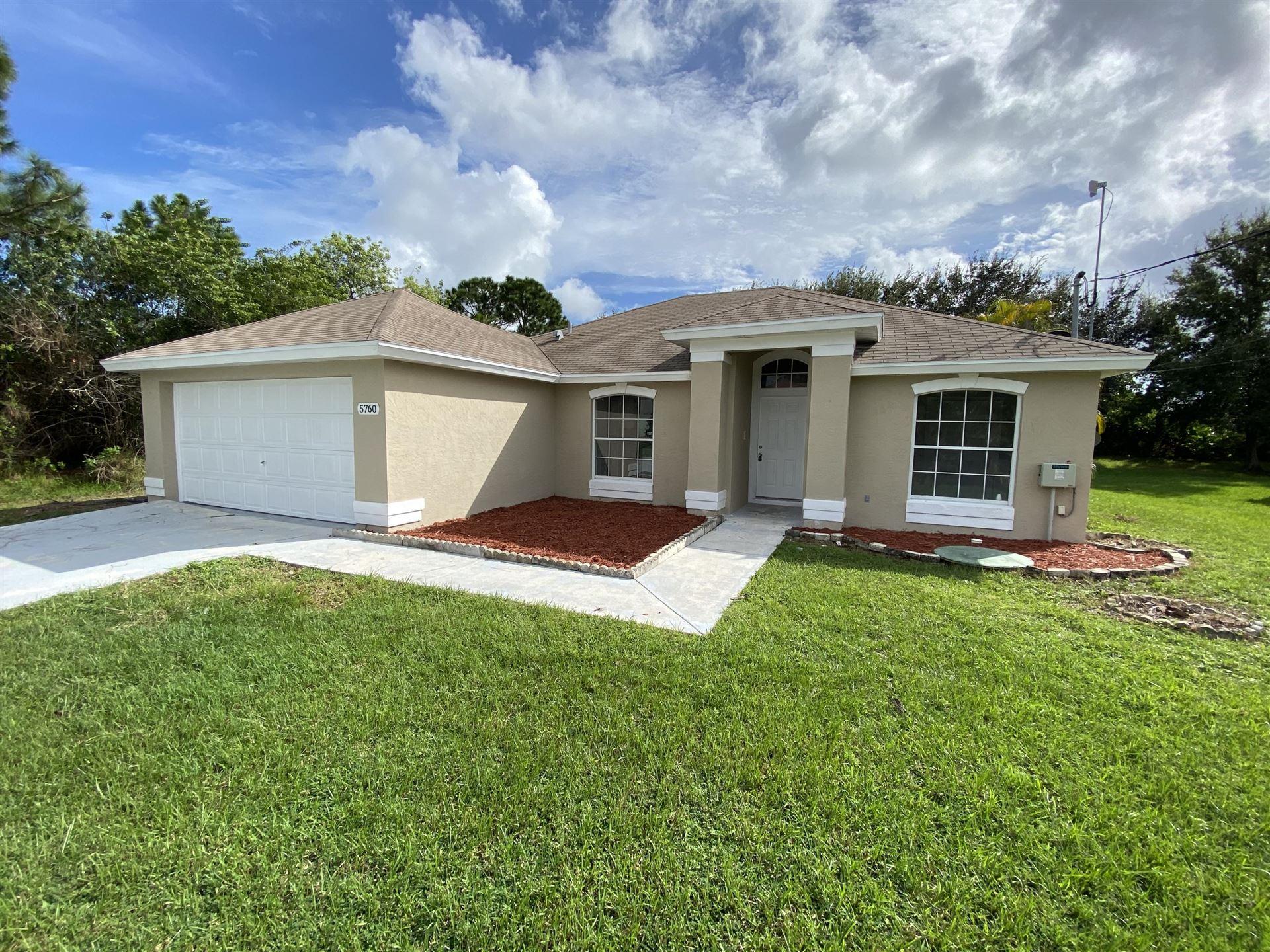 5760 NW Esau Avenue, Port Saint Lucie, FL 34986 - #: RX-10665789