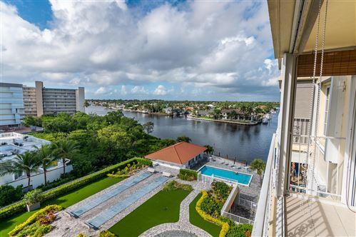 Photo of 3114 S Ocean Boulevard #705, Highland Beach, FL 33487 (MLS # RX-10660790)